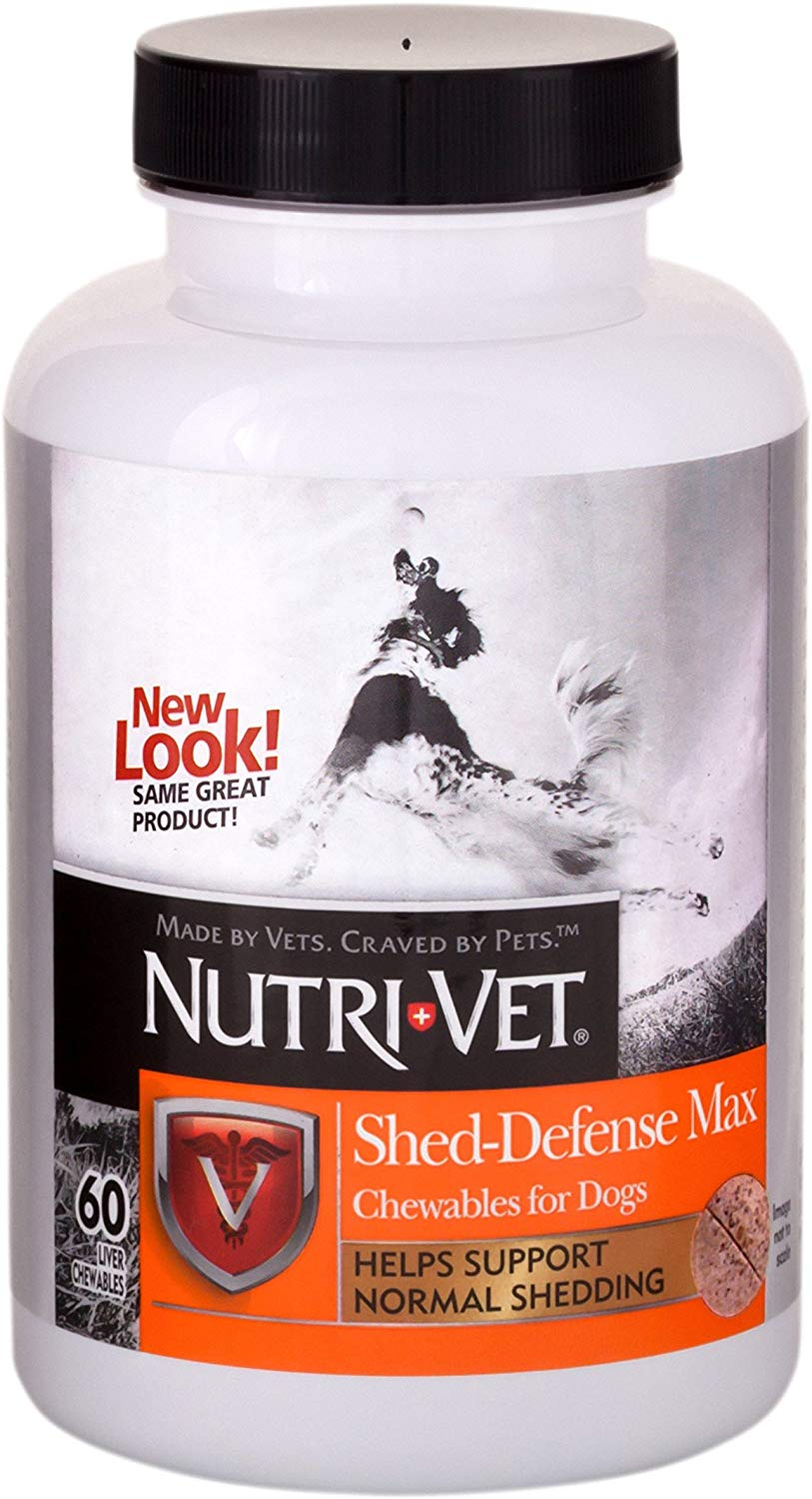 Вітаміни Nutri-vet Shed-Defense Max мультикомплекс з Омега-3